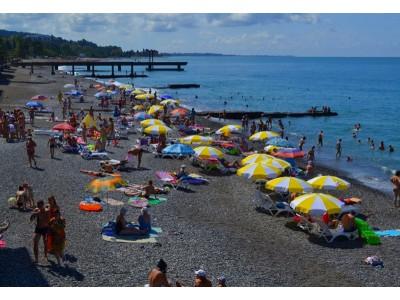 Пансионат  «Айтар»,   пляж