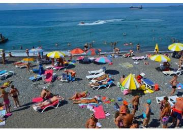 Пляж пансионата  «Айтар»